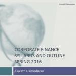 Корпоративные финансы — учебный курс от Асвата Дармодарана